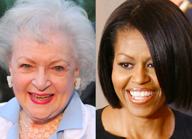 Michelle on the left... natch.