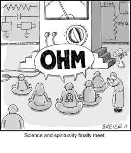 Britt cannot resist science puns...
